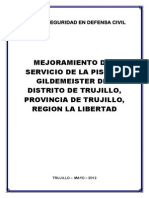 Plan de Seguridad Piscina Gildemeister Octubre 2012