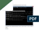 Importar La Base de Datos MYSQL