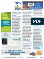 Pharmacy Daily for Tue 08 Sep 2015 - SHPA urges medication lists, Pharmacy first quit choice, Top eight Pharmacy Assistants, Guild Update and much more