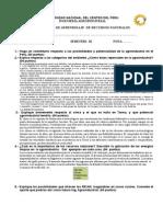 Control de Aprendizaje 2014-I