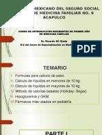 Líquidos y Dosis - R1