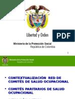 Conformacion Comites Seccional y Local Salud Ocupacional