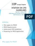 Cpd Guidelines