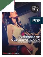 2014 Queensland Conservatorium UG Degrees