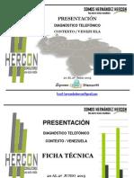 269915856 Hercon Diagnostico Telefonico Junio 2015
