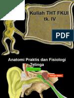 Anatomi & Fisiologi Telinga Prof Zainul