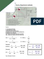 Medicion Ultrasonica Dry Calibration