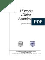 Manual Historia Clinica Academica Unam