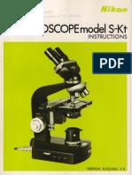 Nikon-S-Kt-Microscope-Manual