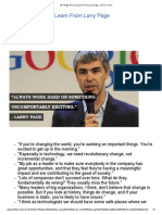 20 Things We Can Learn From Larry Page - JNTU Forum