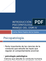 Introduccinalapsicopatologiaymanejodeldsm IV 121001002748 Phpapp01