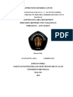 Safeguard System pada Furnace 31 - F- 103 Naphtha Processing Unit PT PERTAMINA RU VI Balongan