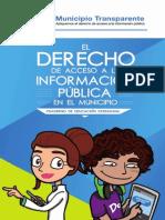El derecho de acceso a la información pública en el municipio
