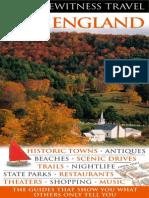 New England (Eyewitness Travel Guides)England