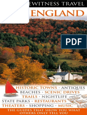 New England (Eyewitness Travel Guides)England | New England