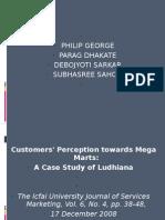 Mega Mart A case study on ludhiana
