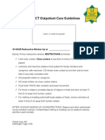 PET Outpatient Guidelines January 2012