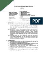 Rencana Pelaksanaan Pembelajaran Pengapianotomotif 2