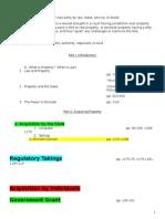 Hoyos Property Outline Southwestern law school