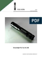 Streamlight Pro-Tac HL USB
