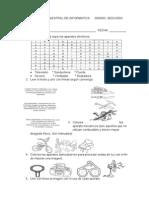 Evaluacion Bimestral de Informatica