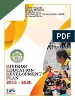 DEDP  2015-2020 DepedCSJDM