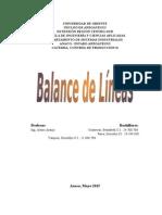 Balance de LineaS