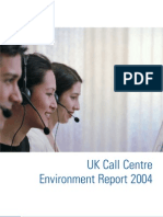 UK Call Centre Environment Report 2004 FINAL