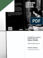 """""""Cuando Me Muera Quiero Que Me Toquen Cumbia"""", de Cristian Alarcón"""