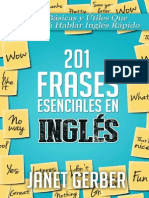 13 201 Frases Esenciales en Ingles - Janet Gerber