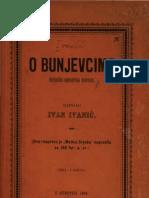 О Буњевцима ; Повесничко-Народописна Расправа (1894.Год.) - Иван Иванић