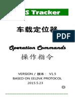 Gps Tracker Operation Commands(d) Obd Got10
