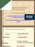 Pharmacocinetique Quantitative