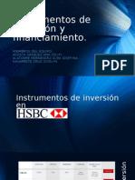 Instrumentos de Inversion y Financimiento.