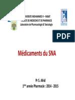 Pharmacologie Du Système nerveux parasympathique