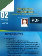 Ppt 2 Statistika-TM-Pengertian Peristiwa Probabilitas Relatif