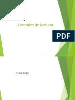 CONTROL DE LECTURAS.ppt
