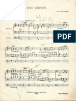 5 Versets - Lloyd Webber