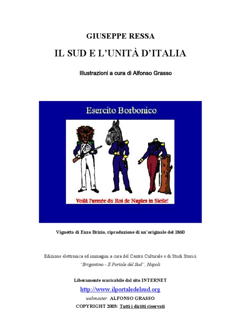 c95a4cf58d2b Giuseppe Ressa - il Sud e l'Unità d'Italia | Sicily | Kingdom Of Italy