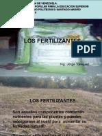 Los Fertilizantes. (Tema Clases Presentacion)