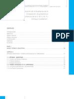 Analisis y Evaluacion de la enseñanza de la Comp  Arq
