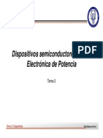 Dispositivos Semiconductores Para Elec. de Potencia