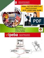 Factor Dirección Institucional San Juan