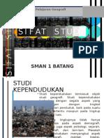Sifat Studi Geografi (1)