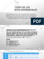 Metodo de Los Incrementos Diferenciales