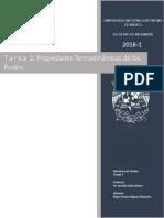 Propiedades Termodinamicas de los Fluidos