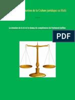 Domaine de La Loi Et Competence Du Parlement
