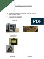 Divisor de Voltaje y Corriente