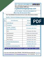 ISO 17043 Documention Kit- Manual Procedure Templates