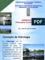 Hidrologia - Principios Fundamentales UNFV - FIGAE